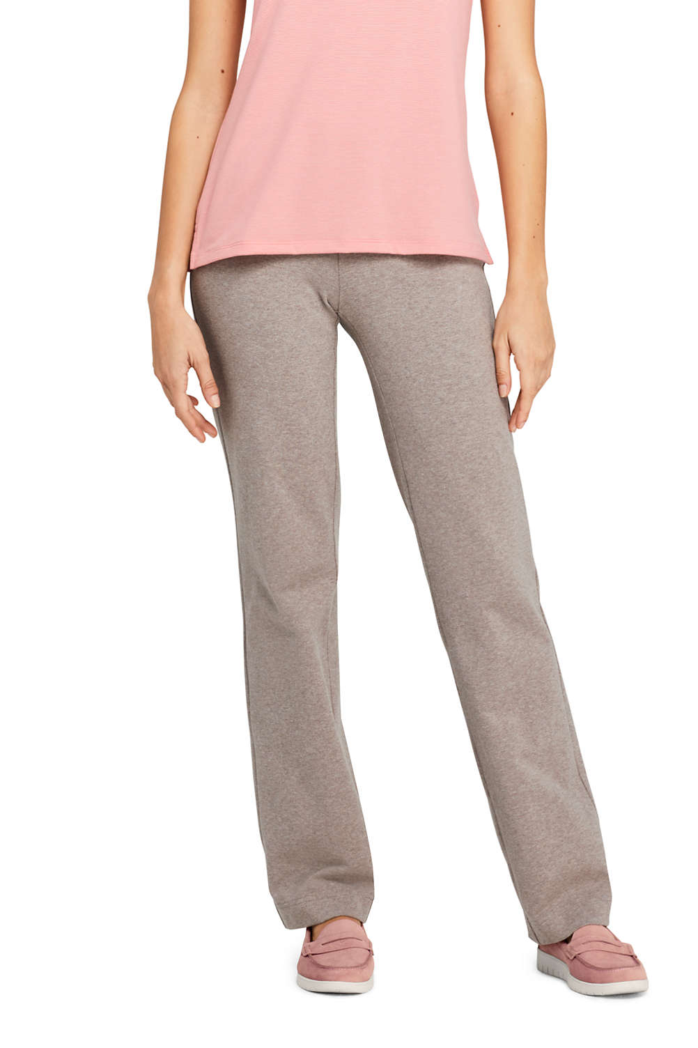af641eb84b2f Women's Starfish Mid Rise Straight Leg Elastic Waist Pull On Pants from  Lands' End