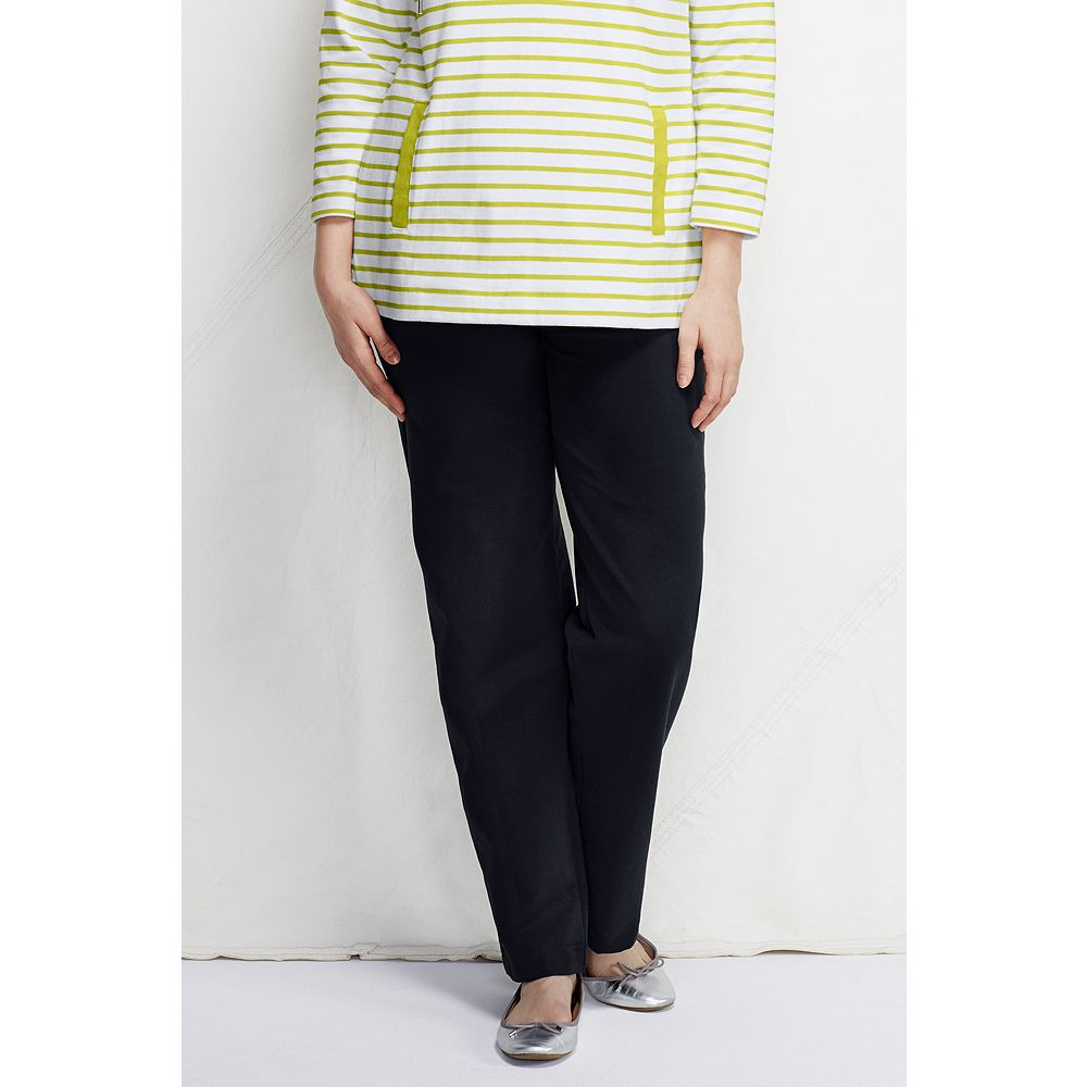 Lands' End Women's Plus Size Petite Starfish Refined Stretch Pants at Sears.com
