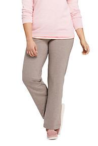 64bb99466a14c Women s Plus Size Starfish Straight Leg Elastic Waist Pants Mid Rise