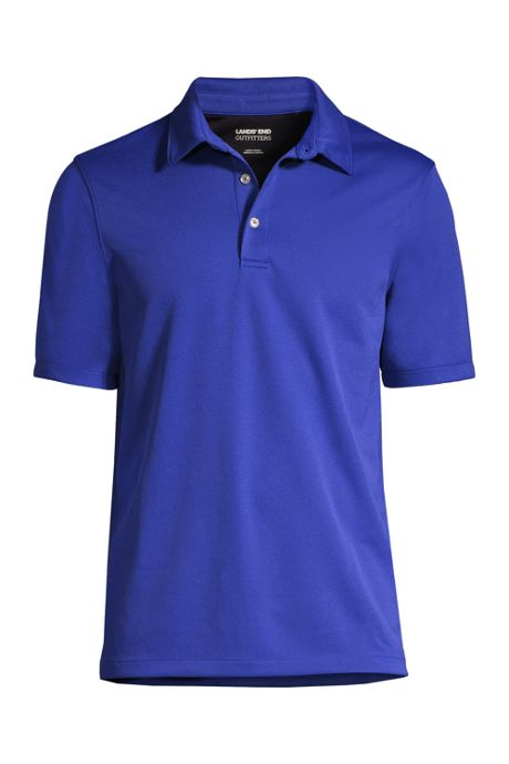 School Uniform Men's Short Sleeve Active Pique Polo