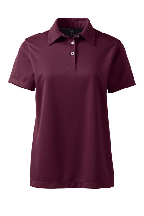 Women's Short Sleeve Active Pique Polo