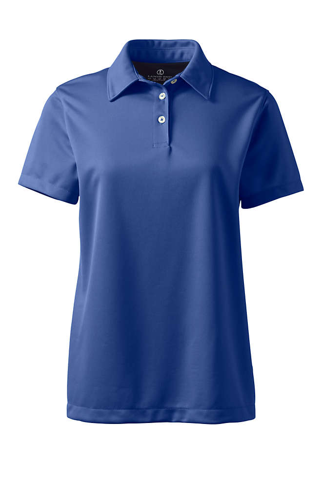 Women's Short Sleeve Active Pique Polo , Front