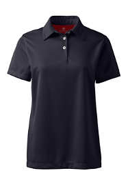 School Uniform Women's Short Sleeve Active Pique Polo