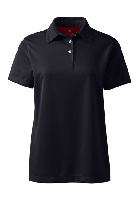 Women's Custom Embroidered Short Sleeve Active Pique Polo Shirt