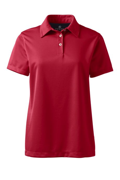 Women's Short Sleeve Active Pique Polo Shirt