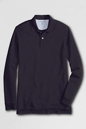 Men's Long Sleeve Original Mesh Polo Shirt