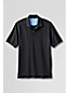 Men's Regular Plain Short Sleeve Piqué Polo Traditional Fit