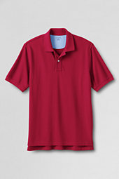 Men's Sporty Short Sleeve Piqué Polo
