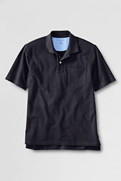 Men's Short Sleeve Original Mesh Polo Shirt with Pocket