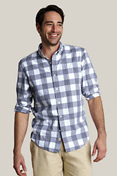 Majestic Navy Gingham