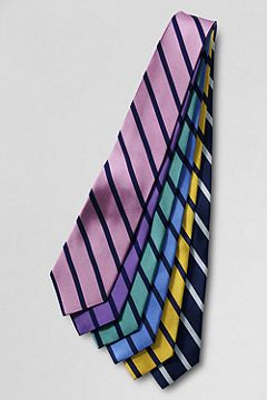 Single Bar Stripe Necktie
