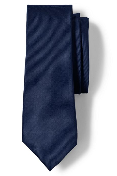 Men's Long Silk Repp Tie