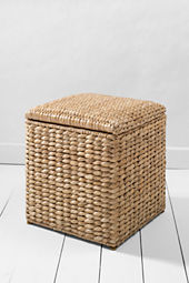 Seaforth Natural Ottoman