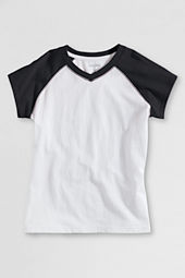 School Uniform Cap Sleeve Raglan T-shirt