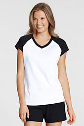 Women's Cap Sleeve Raglan T-shirt