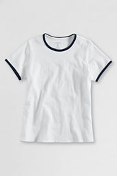 Girls' Short Sleeve Ringer T-shirt