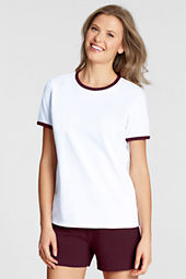 Women's Short Sleeve Ringer T-shirt