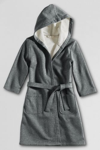 School Uniform Girls' Fleece Cover-up - Pewter Heather, XL