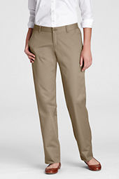 Women's Elastic-back Waist Blend Chino Pants