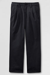 School Uniform Pleat Front Iron Knee® Blend Chino Pants