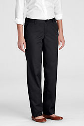 Women's Plain Front Blend Chino Pants
