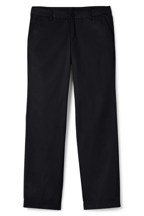 School Uniform Women's Perfect Fit Plain Front Blend Chino Pant