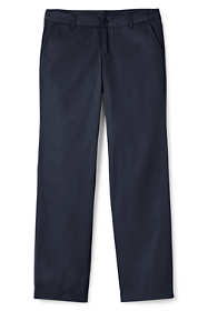 School Uniform Women's Plus Perfect Fit Plain Front Blend Chino Pants