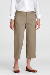 Women's Stain Resistant Stretch Crop Chino Pants