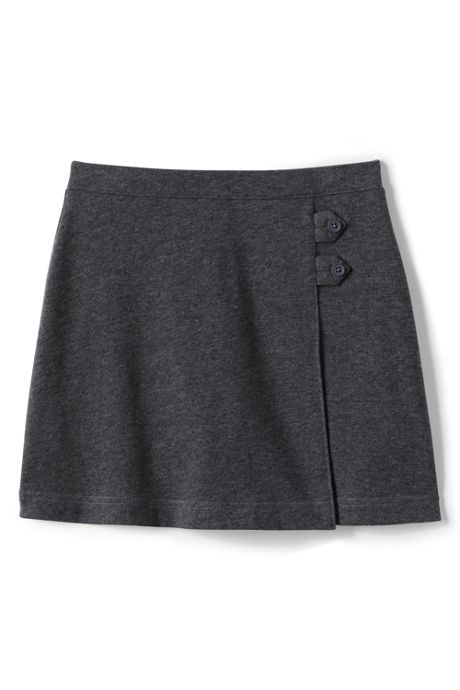 School Uniform Girls Plus Knit Skort