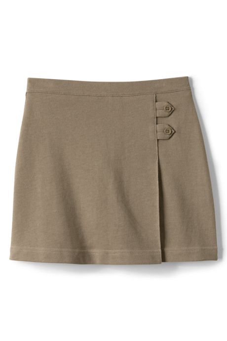 Girls Plus Knit Skort