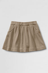 School Uniform Knit Gathered Skort