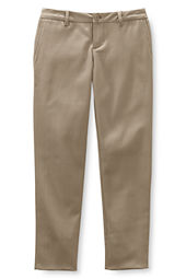 Girls' Pencil Fit Stain Resistant Stretch Chino Pants