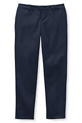 Juniors' Pencil Fit Stain Resistant Stretch Chino Pants