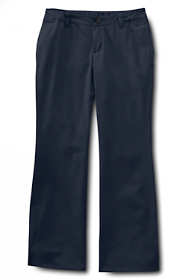 Little Girls Iron Knee Boot-cut Blend Chino Pants