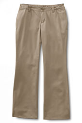 School Uniform Iron Knee® Boot-cut Blend Chino Pants