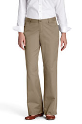 Women's Blend Boot-cut Chino Pants