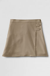 Girls' Solid A-line Skirt