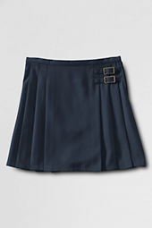 School Uniform Side Buckle Skirt (Above The Knee)
