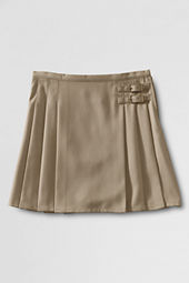 Little Girls' Side Buckle Skirt (Above The Knee)