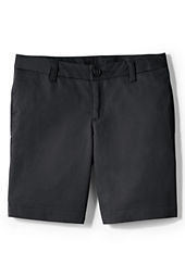 Little Girls' Plain Front Blend Chino Shorts