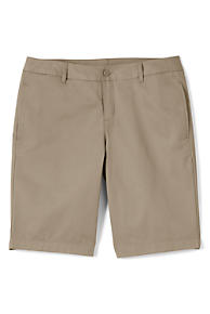 Girls' School Uniform Chino Shorts