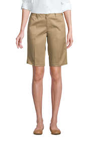 Women's Tall Plain Front Blend Chino Shorts