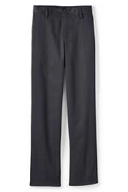Boys Slim Iron Knee Blend Plain Front Chino Pants