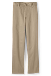 Boys' Plain Front Iron Knee® Blend Chino Pants