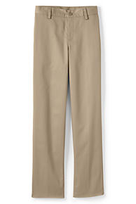 57d16a3b7 Boys Plain Front Iron Knee Blend Chino Pants