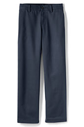 Young Men's Plain Front Stain & Wrinkle Resistant  Chino Pants