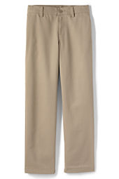 School Uniform Plain Front Iron Knee® Stain & Wrinkle Resistant  Chino Pants