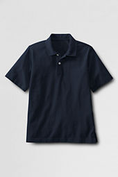 School Uniform Boys' Short Sleeve Jersey Polo Shirt