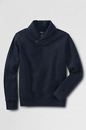 Boys' Fleece Shawl Collar Pullover Shirt