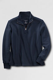 School Uniform Boys' Half-zip Fleece Pullover
